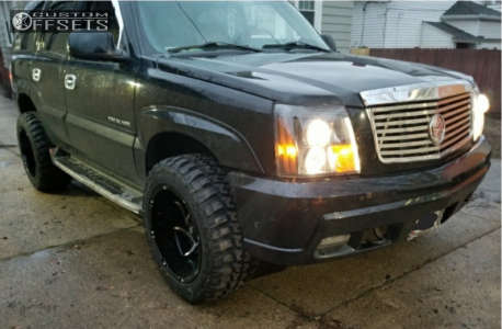 """2002 Cadillac Escalade - 20x12 -51mm - Vision Prowler - Leveling Kit - 33"""" x 12.5"""""""