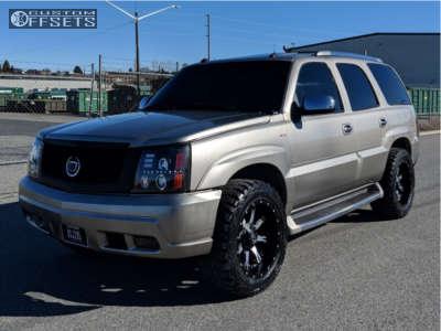 2003 Cadillac Escalade - 20x10 -24mm - Fuel Nutz - Air Suspension - 295/55R20
