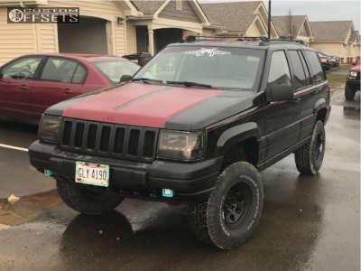 "1997 Jeep Grand Cherokee - 15x7 0mm - Cragar 397 - Suspension Lift 3.5"" - 31"" x 10.5"""