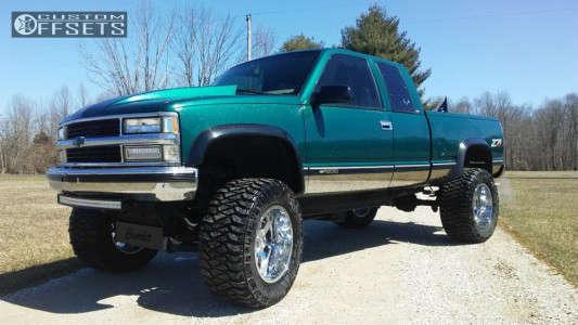 "1997 Chevrolet K1500 - 20x12 -44mm - Gear Off-Road Big Block - Suspension Lift 6"" & Body 3"" - 36"" x 15.5"""