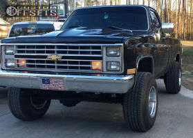 "1985 Chevrolet K20 - 16x12 -50mm - Mickey Thompson Classic Iii - Suspension Lift 3.5"" - 32"" x 11.5"""