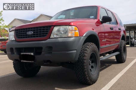 "2004 Ford Explorer - 16x8 0mm - Pro Comp Series 69 - Suspension Lift 2.5"" - 265/75R16"