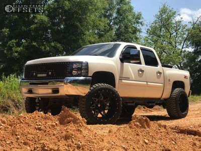 "2013 Chevrolet Silverado 1500 - 24x14 -76mm - RBP Avenger - Suspension Lift 7.5"" - 37"" x 13.5"""
