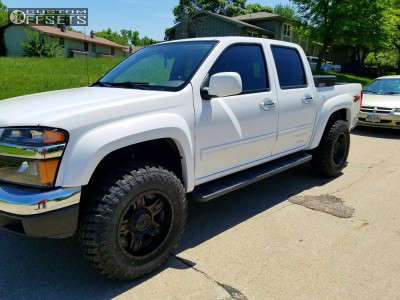 2011 Chevrolet Colorado - 17x9 -12mm - Gear Off-Road Manifold - Leveling Kit - 265/70R17