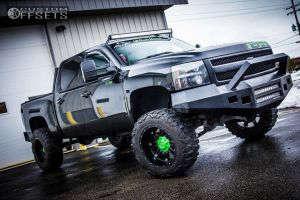 """2008 Chevrolet Silverado 1500 - 20x12 -44mm - Fuel Hostage - Suspension Lift 6"""" - 35"""" x 12.5"""""""