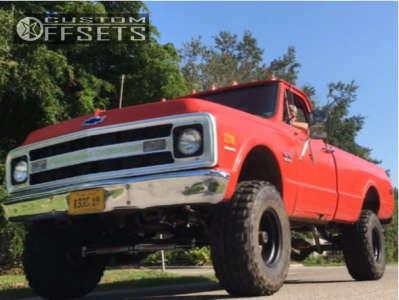 """1969 Chevrolet K10 - 15x10 -47mm - Pro Comp Series 69 - Suspension Lift 4"""" - 33"""" x 12.5"""""""
