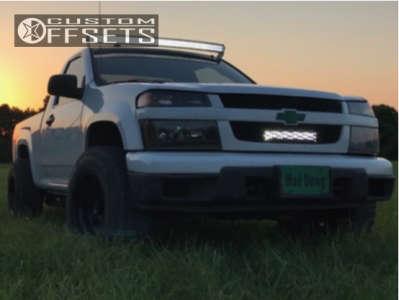 2012 Chevrolet Colorado - 16x10 -25mm - American Racing Baja - Stock Suspension - 245/75R16