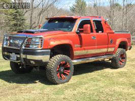 "2004 Chevrolet Silverado 2500 HD - 20x10 -24mm - XD XD822 - Suspension Lift 7"" - 35"" x 12.5"""