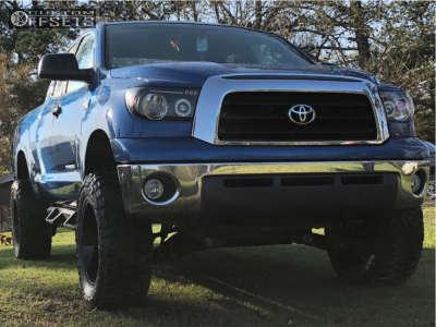 "2008 Toyota Tundra - 20x10 -24mm - XD Xd825 - Suspension Lift 6"" - 35"" x 12.5"""