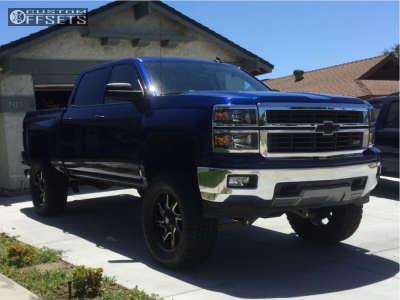 "2014 Chevrolet Silverado 1500 - 20x9 0mm - Centerline Eliminator - Suspension Lift 6"" - 35"" x 12.5"""