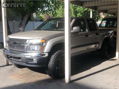 2006 Chevrolet Colorado - 20x12 -44mm - Gear Off-Road Big Block - Leveling Kit - 285/50R20