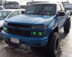 "2004 Chevrolet Colorado - 20x12 -44mm - Fuel Maverick - Suspension Lift 4"" - 33"" x 12.5"""