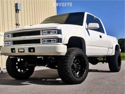 "1997 Chevrolet K1500 - 20x12 -44mm - Anthem Off-Road Commander - Suspension Lift 6"" - 35"" x 12.5"""