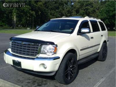 2007 Chrysler Aspen - 22x9.5 15mm - Vct V8 - Leveling Kit - 305/45R22