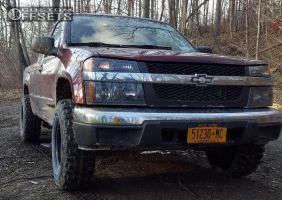 "2007 Chevrolet Colorado - 15x8 -19mm - Pro Comp Series 51 - Leveling Kit - 31"" x 10.5"""