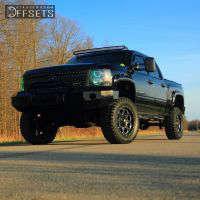 "2011 Chevrolet Silverado 1500 - 20x9 1mm - Fuel Boost - Suspension Lift 7.5"" - 35"" x 12.5"""