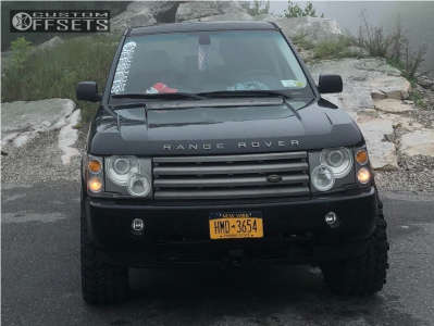 """2004 Land Rover Range Rover - 18x9 38mm - American Racing ATX Ax201 - Leveling Kit - 33"""" x 12.5"""""""