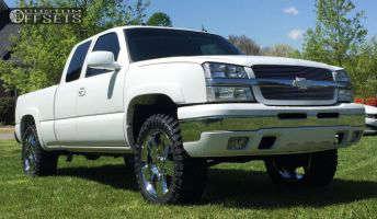 "2004 Chevrolet Silverado 1500 - 22x9 31mm - Oe Performance 147 - Leveling Kit - 35"" x 12.5"""