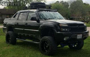 "2002 Chevrolet Avalanche 2500 - 20x12 -44mm - Xd Bomb - Suspension Lift 6"" & Body 3"" - 35"" x 12.5"""