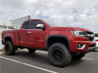 "2016 Chevrolet Colorado - 17x8.5 0mm - Method Grid - Suspension Lift 4"" - 285/70R17"