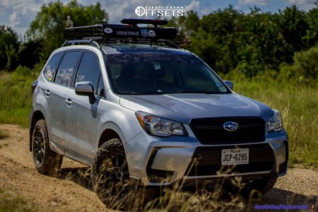 "2014 Subaru Forester - 17x8 42mm - Method Mr501 - Suspension Lift 2.5"" - 265/65R17"