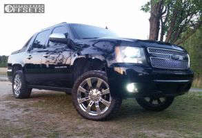"""2008 Chevrolet Avalanche - 22x9 31mm - Oe Performance 144 - Leveling Kit - 33"""" x 12.5"""""""