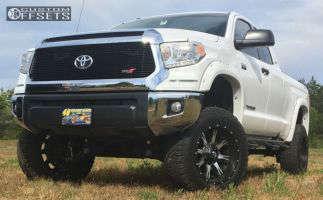 "2014 Toyota Tundra - 20x10 -12mm - Fuel Nutz - Suspension Lift 7"" - 325/60R20"