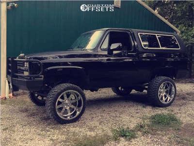 "1991 Chevrolet Blazer - 22x12 -44mm - Gear Off-Road Big Block - Suspension Lift 4"" - 33"" x 12.5"""