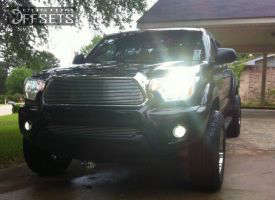 """2013 Toyota Tacoma - 17x8.5 -12mm - Vision Wizard - Stock Suspension - 31"""" x 8.5"""""""