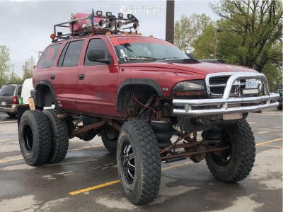 """1999 Dodge Durango - 20x8.25 -176mm - Fuel Maverick D538 - Air Suspension - 44"""" x 11.5"""""""