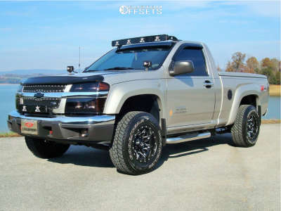 2006 Chevrolet Colorado - 15x8 -18mm - Fuel Lethal - Leveling Kit - 265/75R15