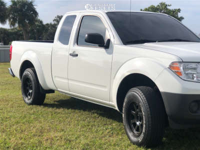 2013 Nissan Frontier - 16x8 0mm - Xd Xd301 - Leveling Kit - 235/75R16