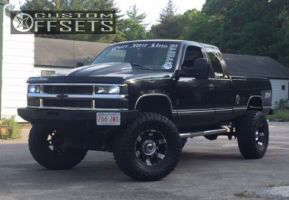 "1997 Chevrolet K1500 - 17x9 -12mm - XD Spy - Suspension Lift 5"" - 37"" x 13.5"""