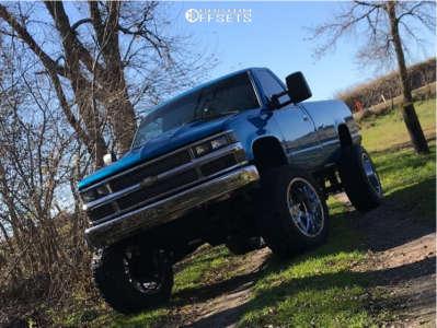"1991 Chevrolet K1500 - 22x12 -44mm - Gear Off-Road Big Block - Suspension Lift 6"" & Body 3"" - 37"" x 12.5"""