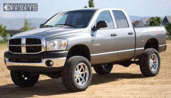 "2008 Dodge Ram 1500 - 20x10 -24mm - Fuel Maverick - Suspension Lift 6"" - 35"" x 12.5"""