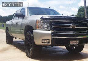"2007 Chevrolet Silverado 1500 - 22x9 27mm - OE Performance 150 - Leveling Kit - 33"" x 12.5"""