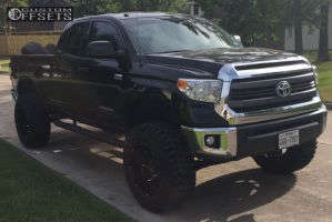 """2014 Toyota Tundra - 20x12 -51mm - Vision Prowler - Suspension Lift 8"""" - 37"""" x 13.5"""""""