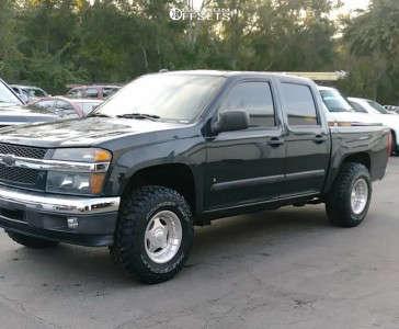 "2008 Chevrolet Colorado - 15x8.5 -25mm - Centerline Hellcat - Suspension Lift 3.5"" - 31"" x 10.5"""