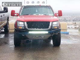 2003 Chevrolet Silverado 1500 - 17x9.5 -10mm - Mb Wheels Kronk - Leveling Kit - 295/65R17