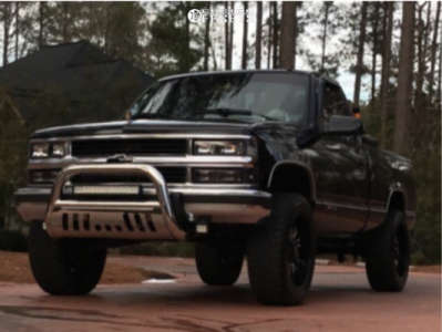 """1994 Chevrolet C1500 - 20x9 -12mm - Panther Offroad 580 - Suspension Lift 4"""" - 275/55R20"""