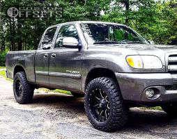 2003 Toyota Tundra - 18x9 -12mm - Fuel Maverick D538 - Leveling Kit - 275/65R18
