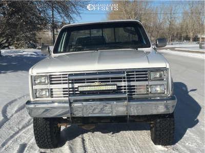 "1984 Chevrolet K10 - 18x9 0mm - Eagle Alloy Series 186 - Suspension Lift 4"" - 275/70R18"