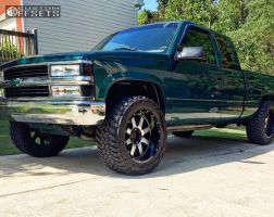 1997 Chevrolet K1500 - 20x10 -19mm - Gear Off-Road Big Block - Stock Suspension - 305/55R20