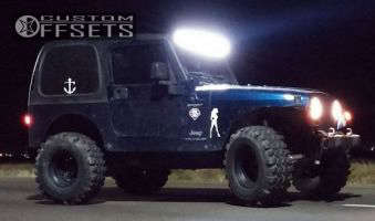 "2005 Jeep Wrangler - 15x10 -76mm - Pro Comp Series 97 - Suspension Lift 3"" - 33"" x 13.5"""