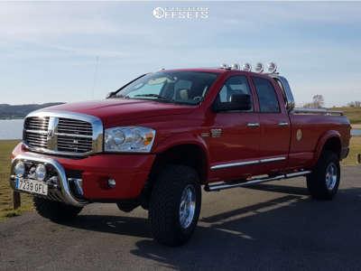 "2008 Dodge Ram 2500 - 17x6 0mm - Alcoa Other - Stock Suspension - 35"" x 12.5"""