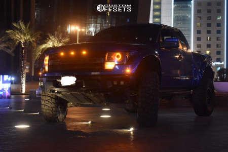 "2014 Ford Raptor - 17x8.5 7mm - Fuel Jm2 - Suspension Lift 4.5"" - 40"" x 13.5"""