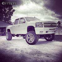 "2012 Chevrolet Silverado 1500 - 22x14 -76mm - XD Diesel - Suspension Lift 9"" - 325/50R22"