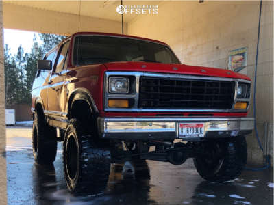 "1981 Ford Bronco - 20x9 1mm - Fuel Anza - Suspension Lift 6"" - 35"" x 12.5"""