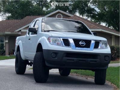 "2013 Nissan Frontier - 16x8 0mm - Xd Xd301 - Suspension Lift 6"" - 285/75R16"