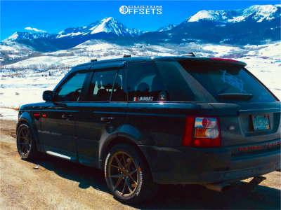 2007 Land Rover Range Rover Sport - 19x9.5 35mm - Verde Axis - Air Suspension - 275/45R19